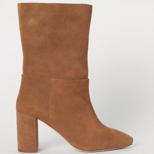 Suede Ankle Boots by H&M- Sz. 8.5